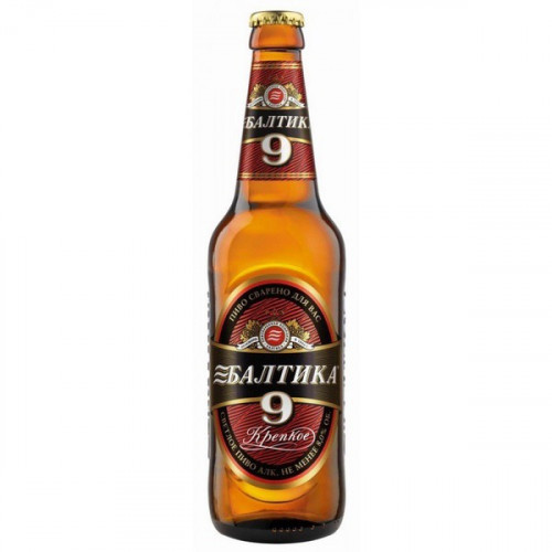 "Beer ""Baltika №9"" 8% alcohol., 0.45l"