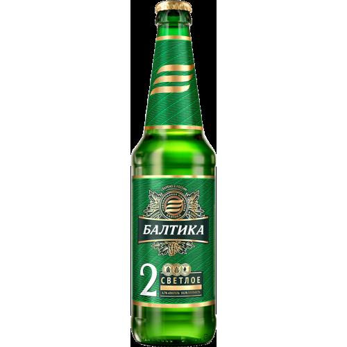 Пиво Балтика 2 светлое