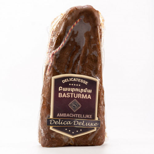 Basturma (dried beef) made in the Netherlands, 390-430g