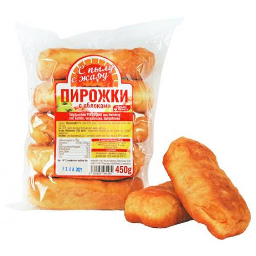 Frozen fried pies with apples, 450g