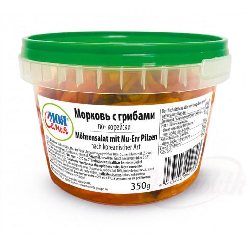 """Морква """"По-корейськи"""" з грибами, 350г"""