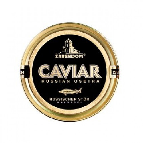 """Sturgeon caviar """"Russian"""", 125g"""