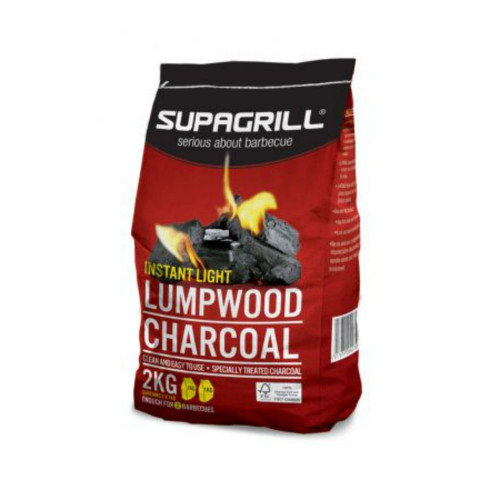Charcoal for barbecue, 2kg