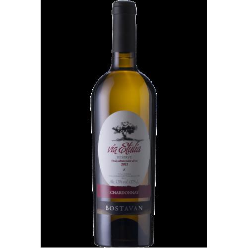 Молдавське біле сухе вино Chardonnay Via Etulia