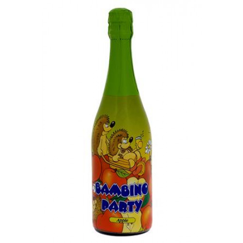 """Children's """"Sparkling wine"""" Bambino Party with apple flavor, 0.75l"""