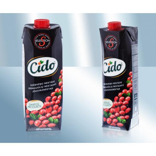 Клюквенный нектар Cido, 1л
