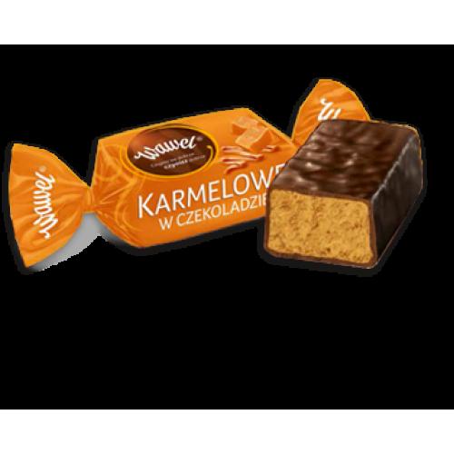 Карамельні цукерки Wawel з молочним шоколадом, 500г