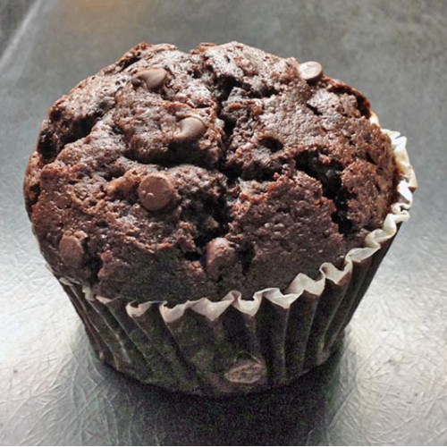 Double chocolate muffin, 2pcs. 100g each