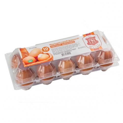Яйця курячі, 10шт