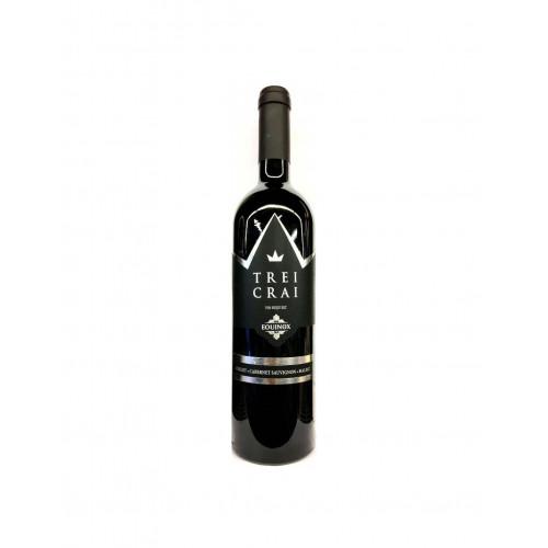 Молдавське червоне сухе біодинамічне вино Equinox Trei Crai з сертифікатом organic