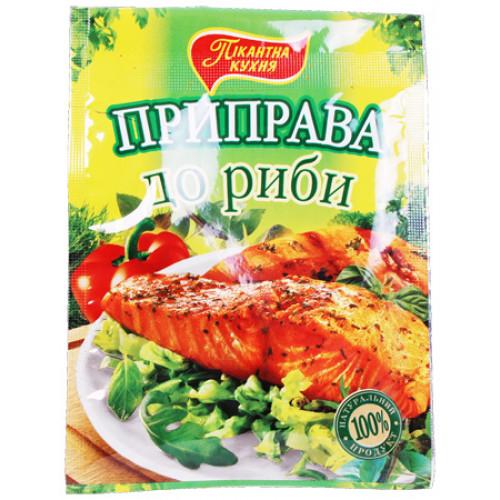 Seasoning Pikantna kitchen for fish, 30g