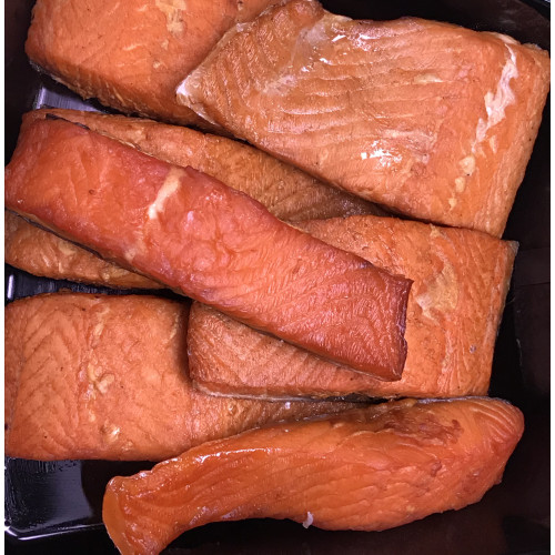 Steamed salmon filet, 1kg