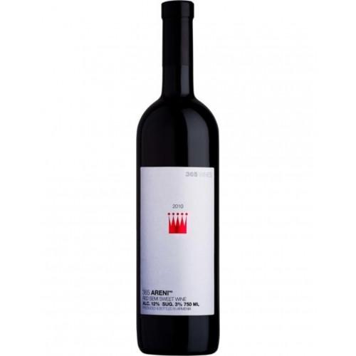 Армянское красное полусладкое вино Gevorkian 365 Areni 2017