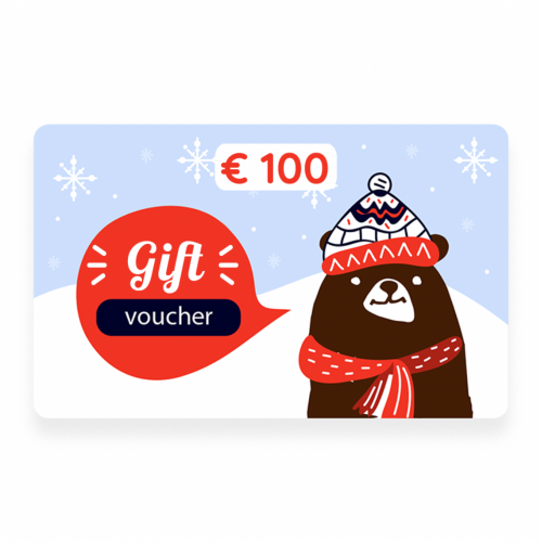 "Gift voucher ""NASH"" for 100 euros"