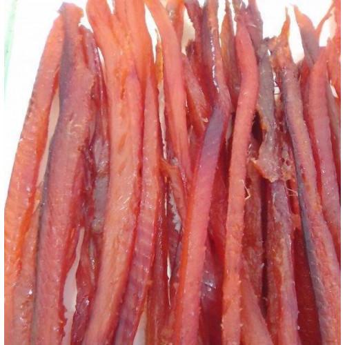 Філе дикої Камчатської горбуші в'ялене підкопчене Ikroff, 100г