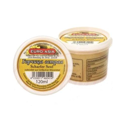 Hot mustard, 120ml