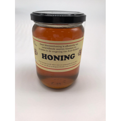 Farm flower honey, collected in South Holland, 700g
