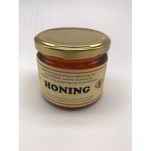 Farm flower honey, collected in South Holland, 400g