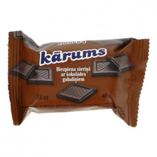 Сирок глазурований латвійський KARUMS шоколадний, 45г