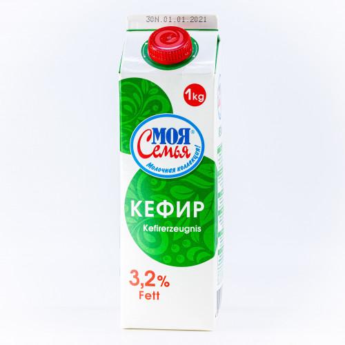 Кефир 3.2% жирности 1л  (срок до 19.03)