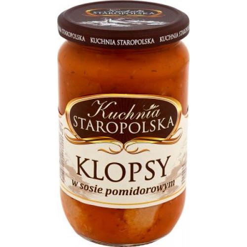 Тефтельки с луком Kuchnia Staropolska в томатном соусе, 500г
