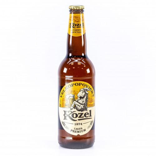 "Bier ""Kozel Svetly"" helder 4,0% alc."