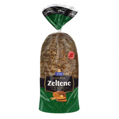 Латвійський вівсяної хліб Zeltene, 800г