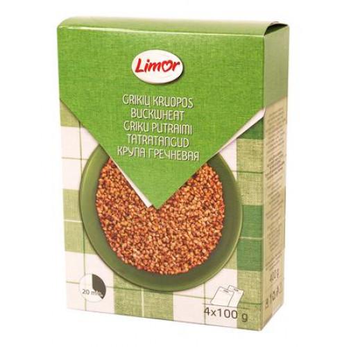 Buckwheat in cooking bags Limor 4x100g