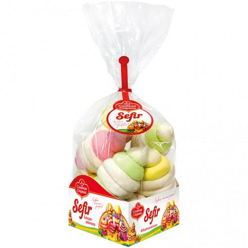 """Зефир """"Ассорти"""" со вкусом ванили, клюквы, груши и ананаса, 380г"""