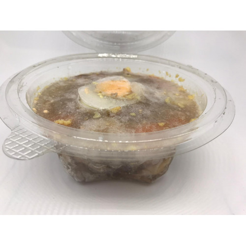 Jellied meat of 4 types of meat without adding gelatin, 450g (Delivery time - two days)