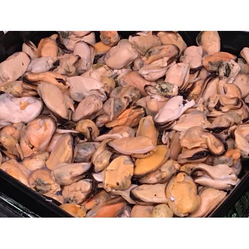 Peeled boiled frozen mussels, 1kg