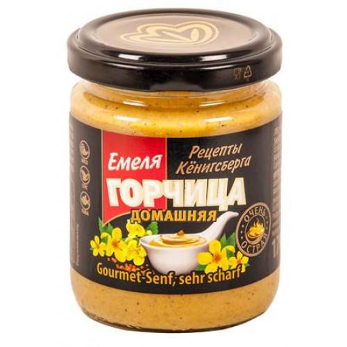 "Mustard very spicy ""Homemade"" Emelya, 170g"