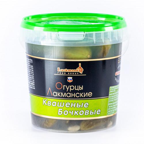Barrel pickled cucumbers Lackmann, 1100ml