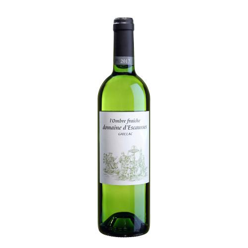 Французьке біле сухе вино Domaine d'Escausses L'Ombre Fraîche 2019