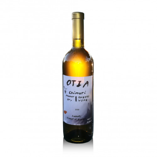 Georgian orange dry wine OTIA Chinuri Qvevri 2018