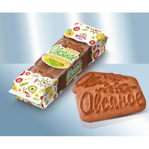 """Вівсяне печиво класичне """"Серпанок"""", 250г"""