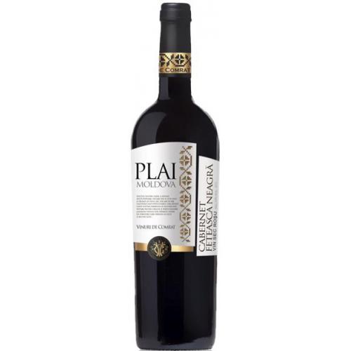 Молдавское красное сухое вино Plai Cabernet-Feteasca Neagra