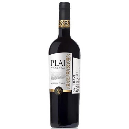 Молдавское красное сухое вино Plai: Saperavi Bastardo