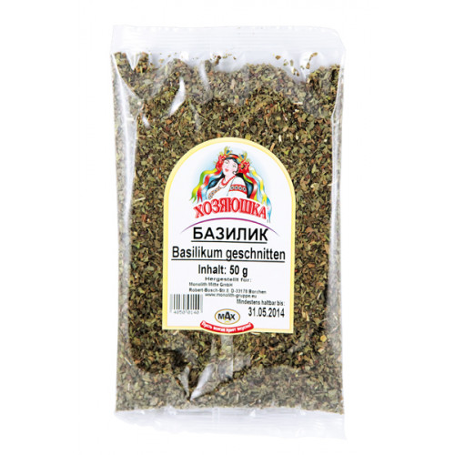 Dried basil, 50g