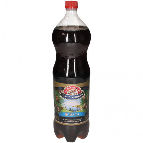 "High-carbonated non-alcoholic drink ""Baikal"", 1.5l"