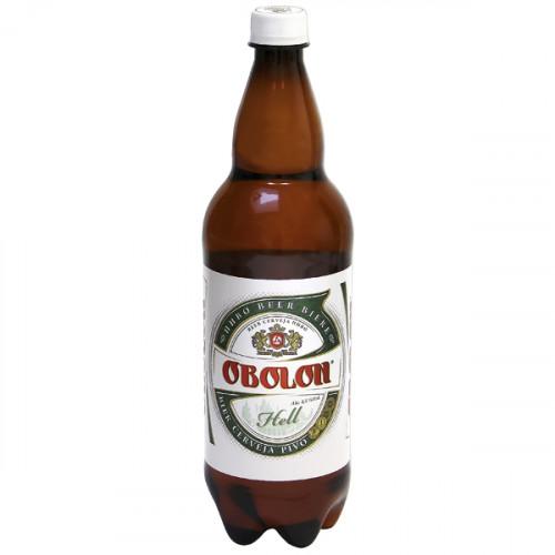 """Пиво """"Оболонь"""" светлое пастеризованное 4,5% алк., 1л"""