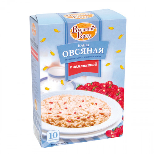 Oatmeal porridge with wild strawberries, 370g