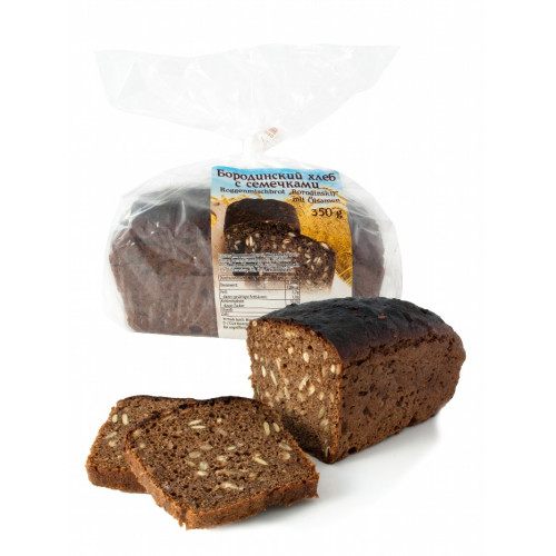 Borodino bread with seeds