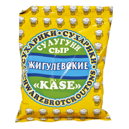 Zhiguli crackers with cheese flavor, 50g