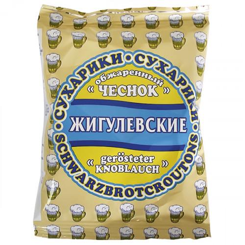 "Crackers ""Zhiguli"" with the taste of fried garlic, 50g"