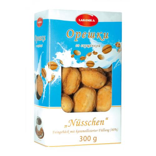 "Cookies ""Nuts"" with condensed milk, 300g"