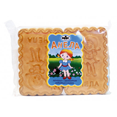 """Sugar cookies """"Anela"""" with the aroma of whipped cream, 250g"""
