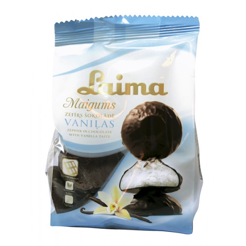 Marshmallows in chocolate, 200g