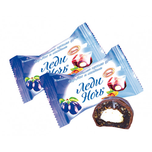 "Candies ""Lady night"" with prunes 330g"