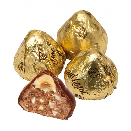 """Sweets """"Autumn Waltz"""" with peanuts and hazelnuts in cocoa glaze, 300g"""